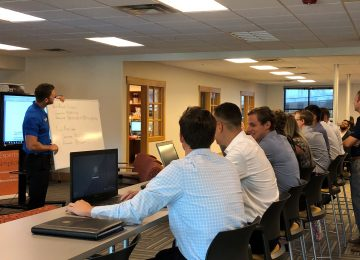 Image of students attending summer leadership program - BOOST