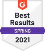 Sage Intaccts wins G2 Crowd Best Results Spring 2021 award