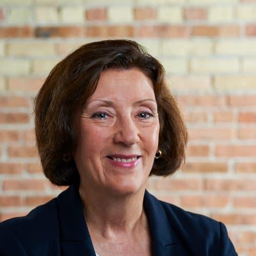 Image of Carol Hubbard in Beene Garter office