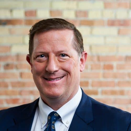 Image of Dan Lynn in Beene Garter office