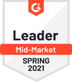 Sage Intacct software wins leader of mid-market spring 2021 award from G2