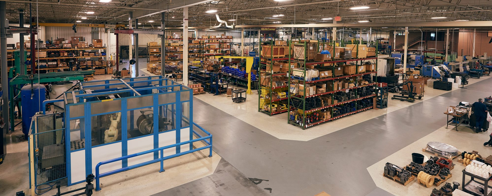 Image of warehouse on Beene Garter's mergers & acquisitions page