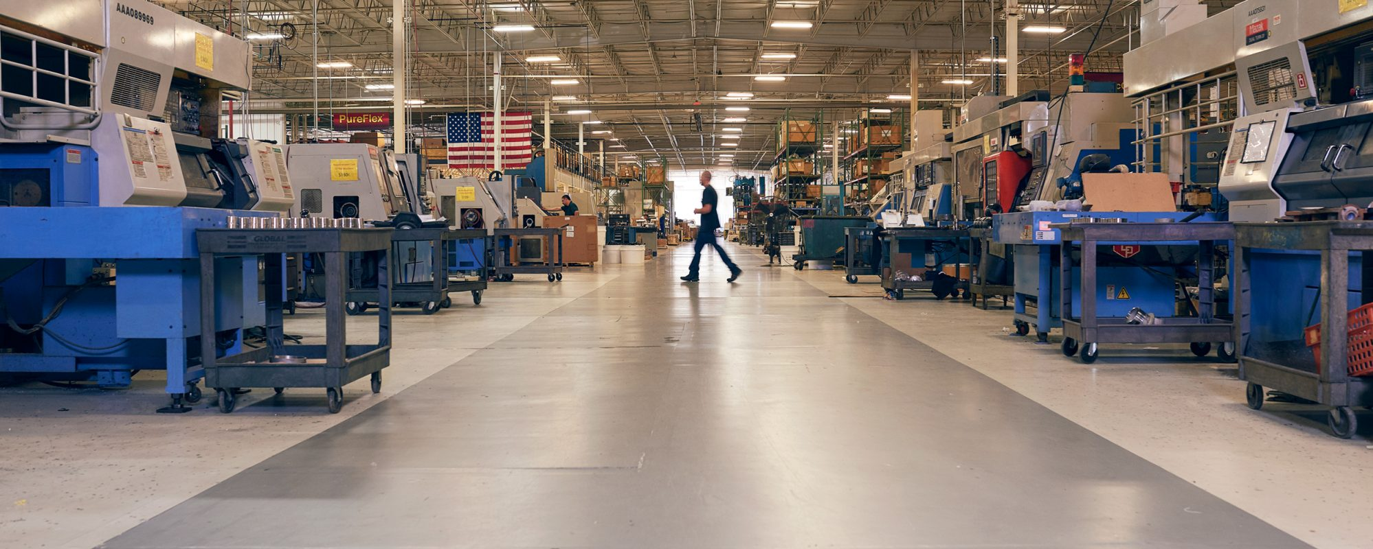 Image of manufacturing business on Beene Garter's international tax page