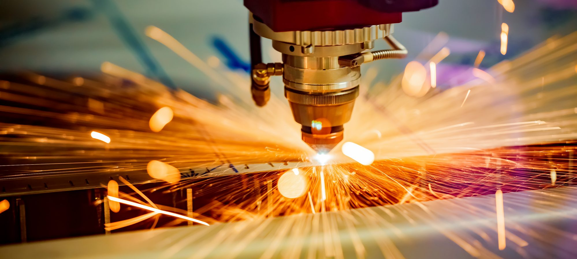 Image of CNC laser cutting metal - manufacturing company with IC-DISC