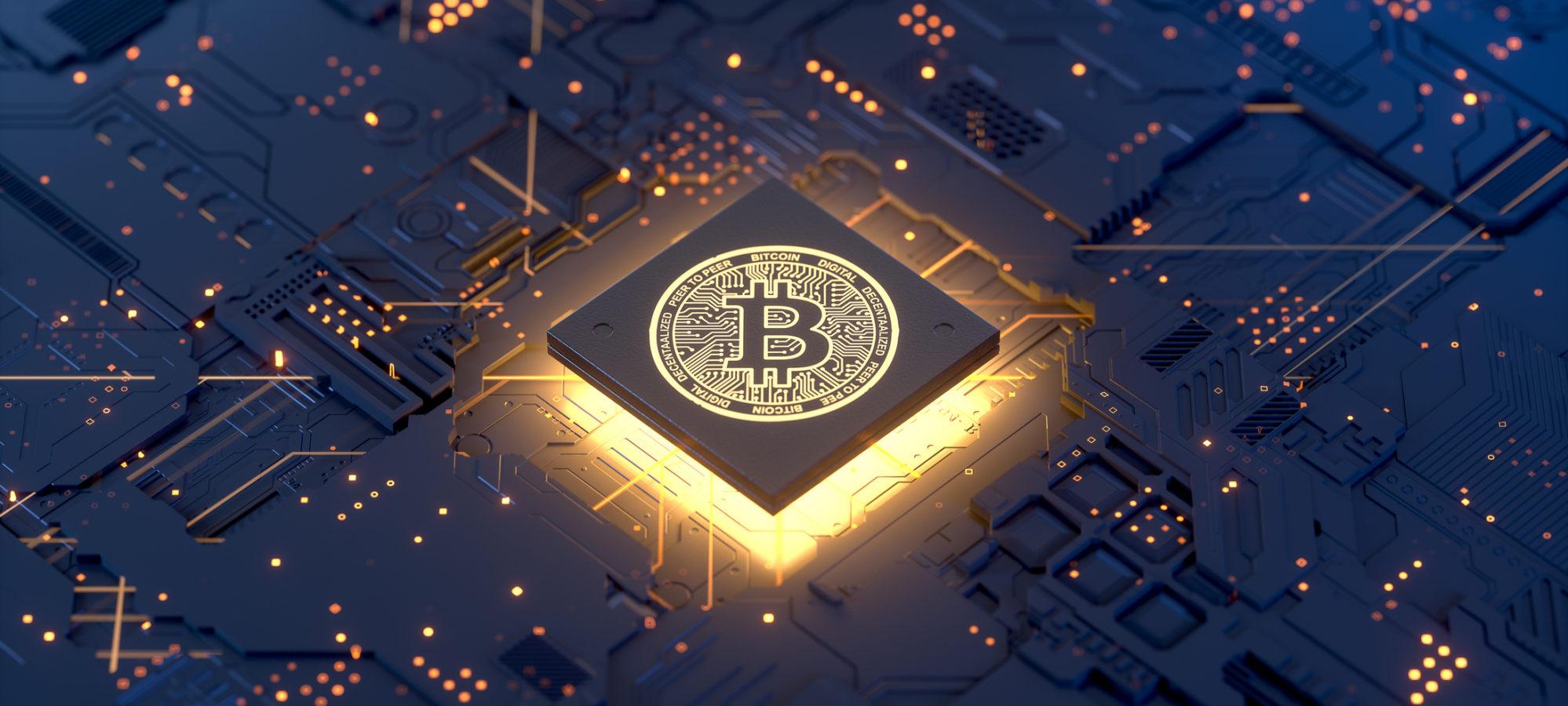 Visual representation of virtual currency bitcoin