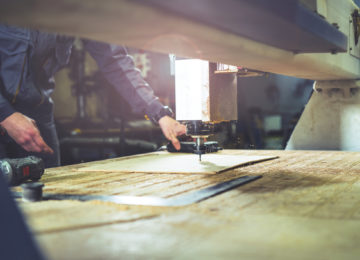Milling machine at wood manufacturer - increases focus on sales with Beene Garter's accounting outsourcing services