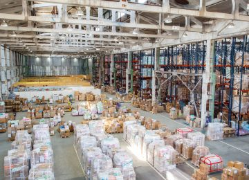 Image of warehouse for storing inventory - LIFO election