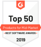 G2 Crowd Top 50 Products for Mid-Market